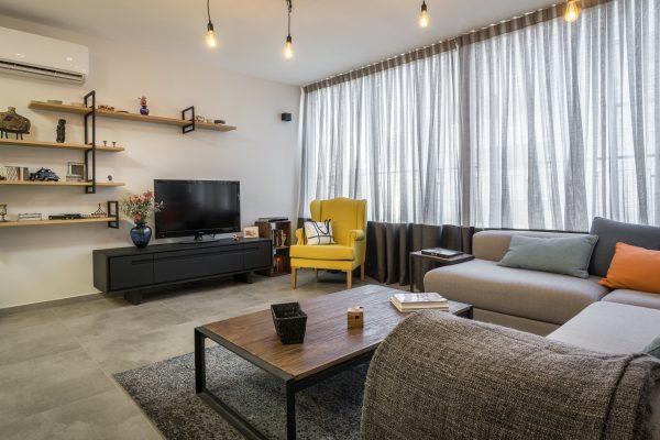 שיפוץ ועיצוב דירה ברמת גן